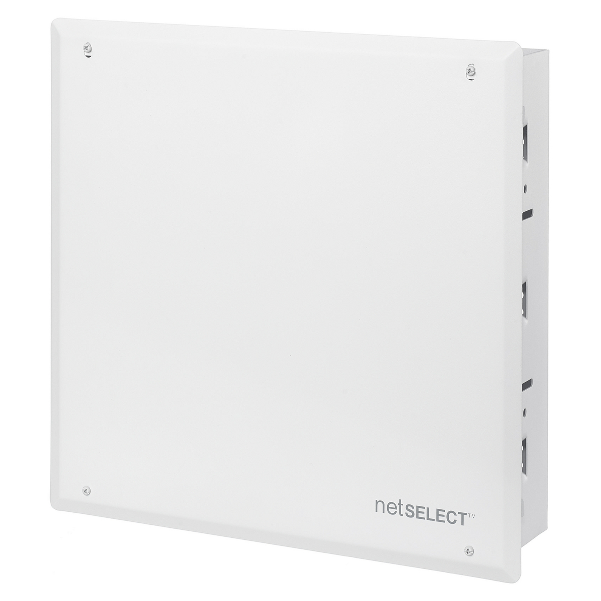 """Hubbell NSOBOX14BCCABINET, NETSELECT, 14""""H, w/PANEL COVER, WH"""