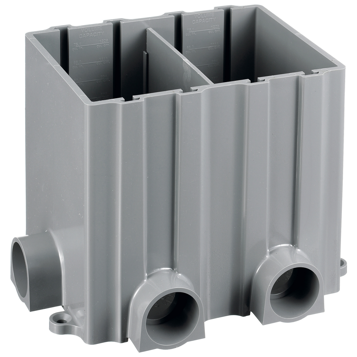 Hubbell PFBRG2 2Gang Non-Metallic Floor Box