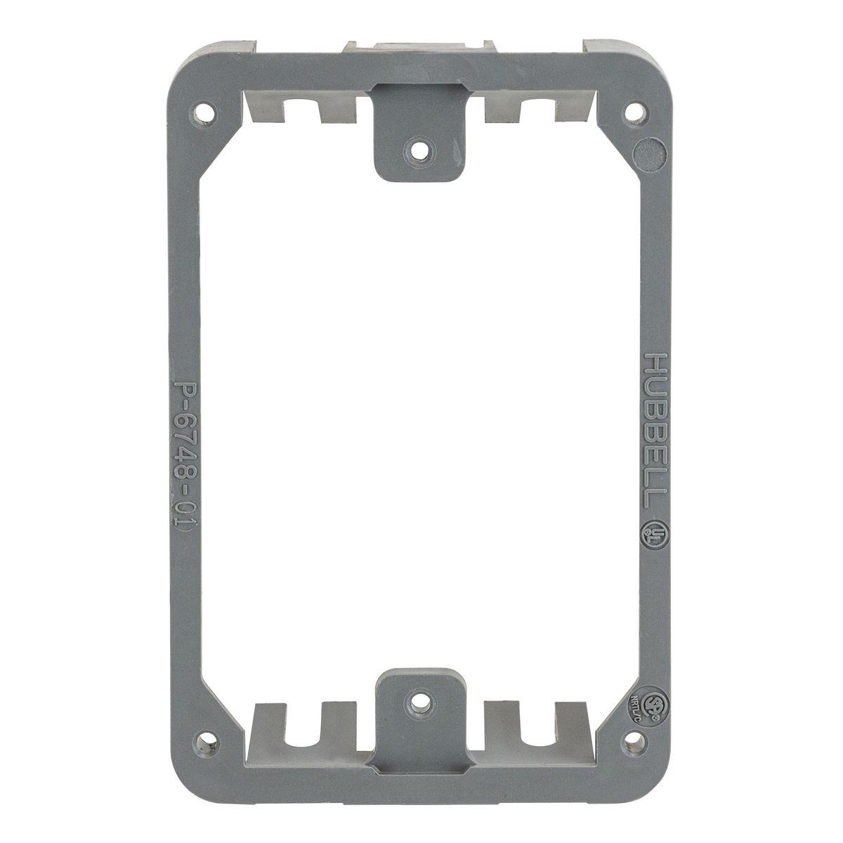 Hubbell PFBRMC Non-Metallic Concrete Floor Box Mounting Collar