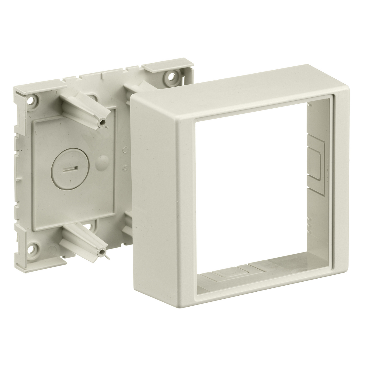 Hubbell PW1TGB WALLTRAK1 2-G BOX