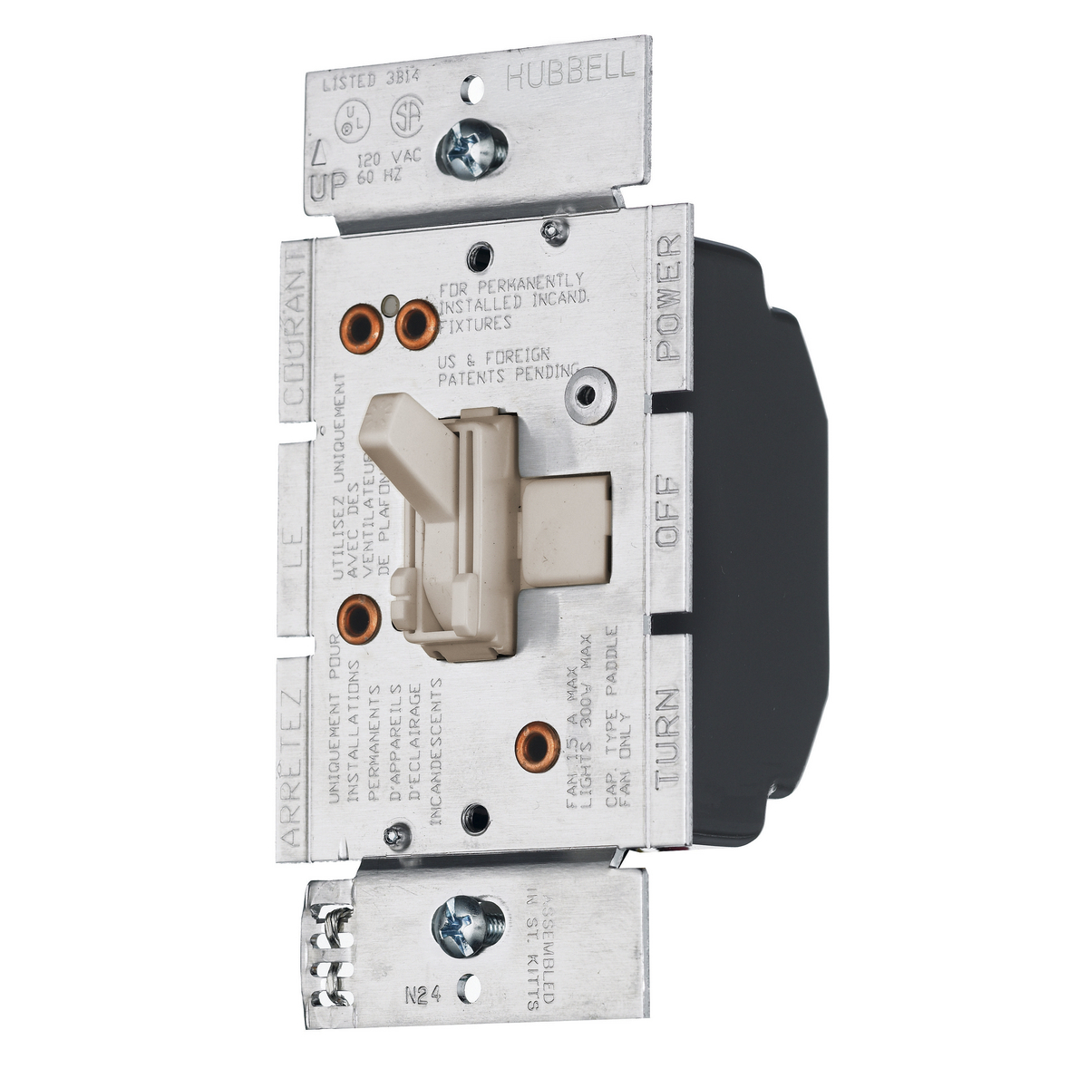 ray2lfsqla dimmers fan speed controls residential devices rh hubbell com eaton residential wiring devices eaton residential & wiring devices division