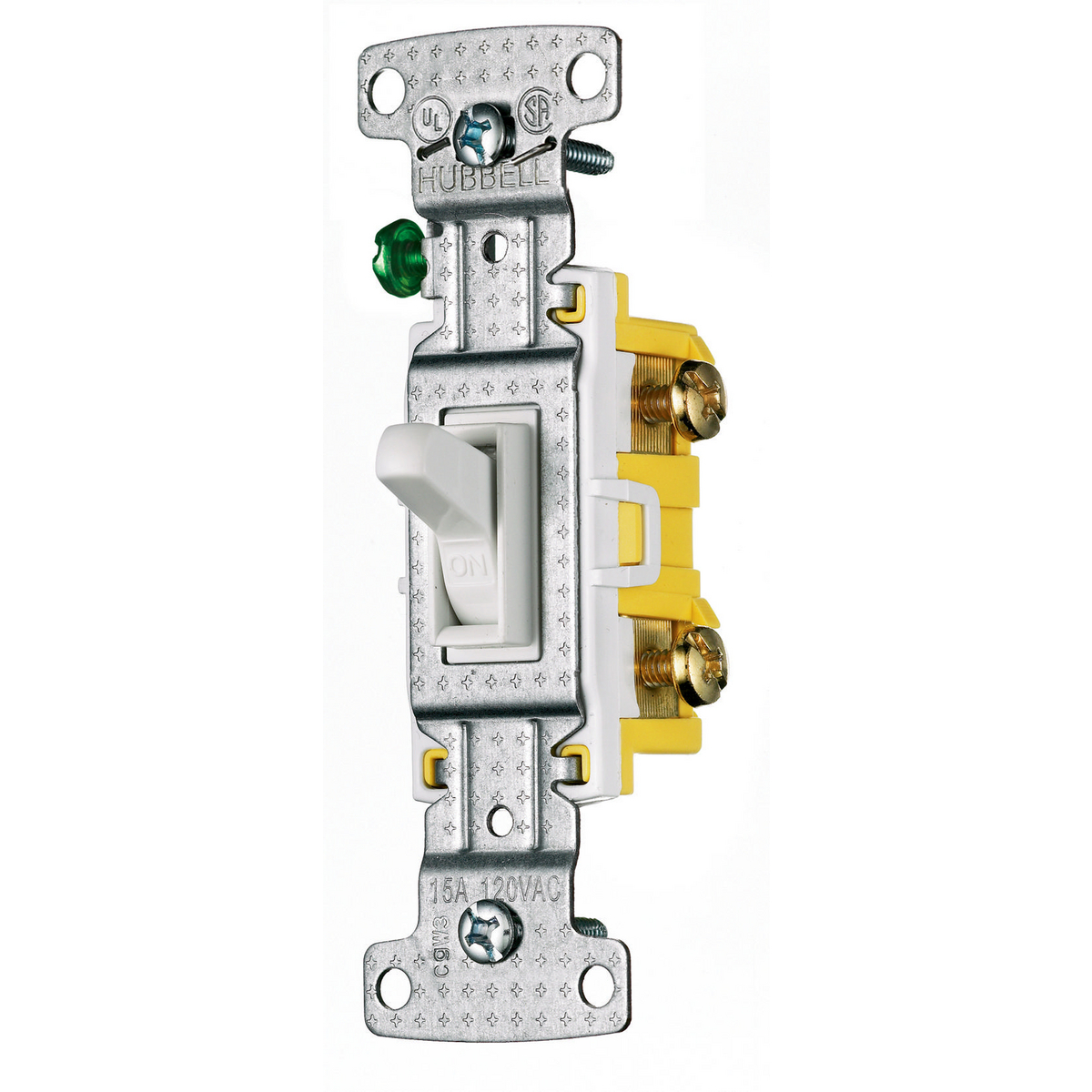 Switches United Electric Commercial Single Pole Toggle Switch Hubbell Rs115sw Wiring Device Kellems Tradeselect And Lightingcontrols Residential Grade