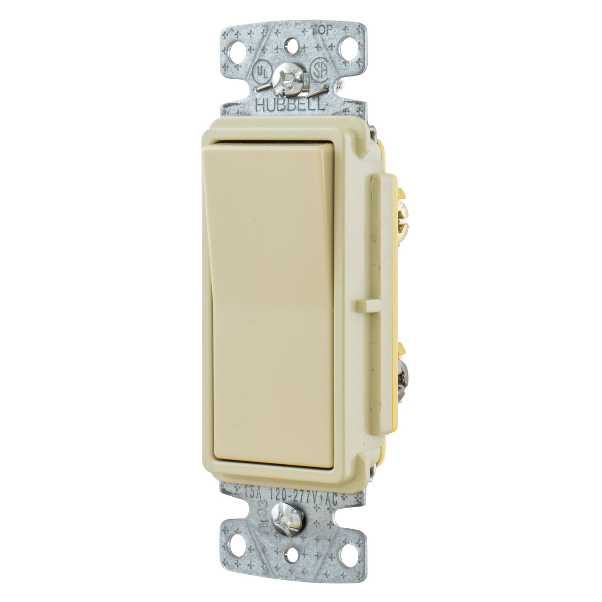 hubbell wiring toggle switch 3 way illuminated 15a ivory per 6 each  switches united electric hubbell wiring toggle switch 3 way illuminated 15a ivory per 6 each