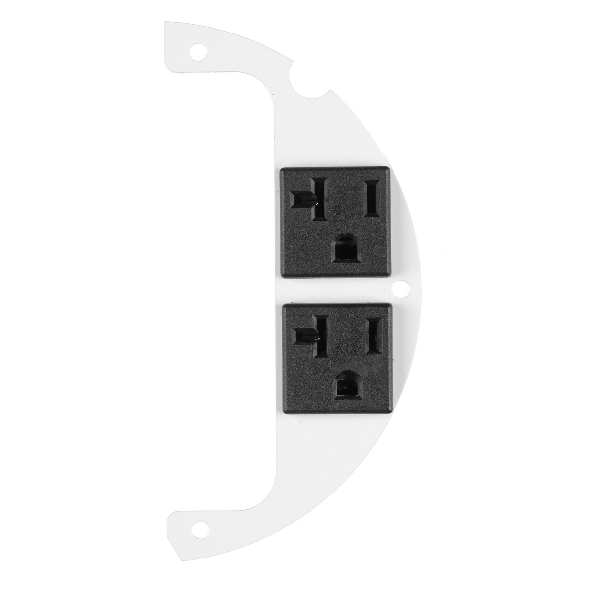 New Hubbell S1R6SPZ25-20A pre-wired receptacle 25/' lead sub-plate outlet