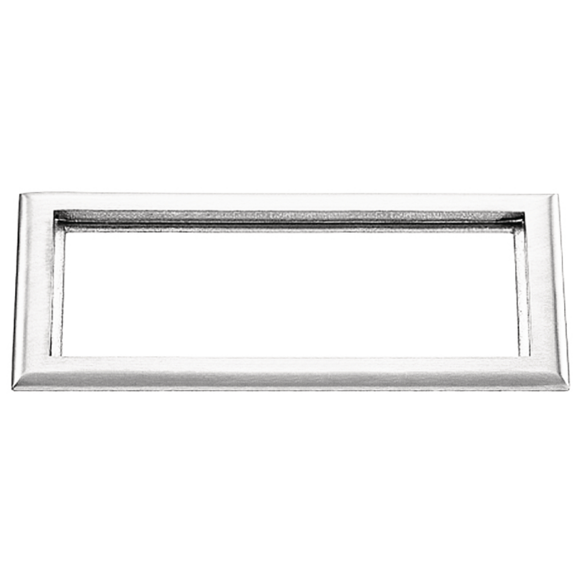 Hubbell S3085 3-Gang 6 x 11.34 Inch Clear Polycarbonate Rectangular Floor Box Carpet Flange