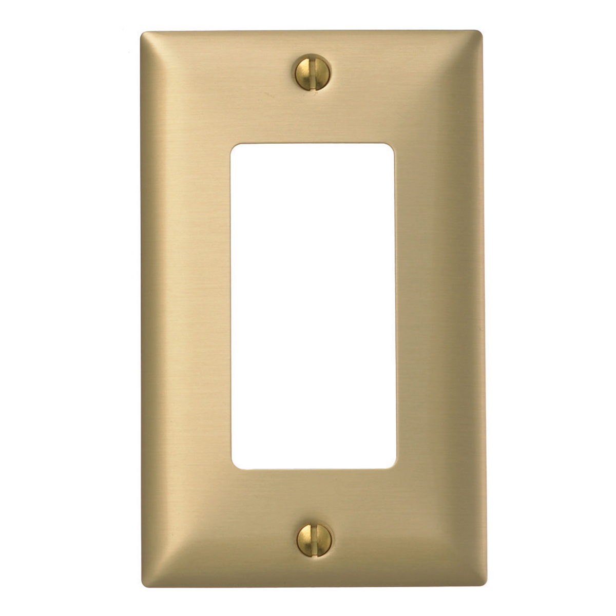 Hubbell SB26 WALLPLATE 1-G, STYLE OPENING, BRS