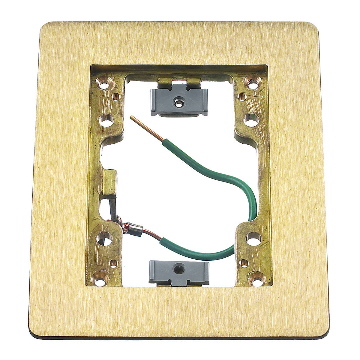 HUBBELL WIRING DEVICE-KELLEMS SB3083W Rectangular Flanges