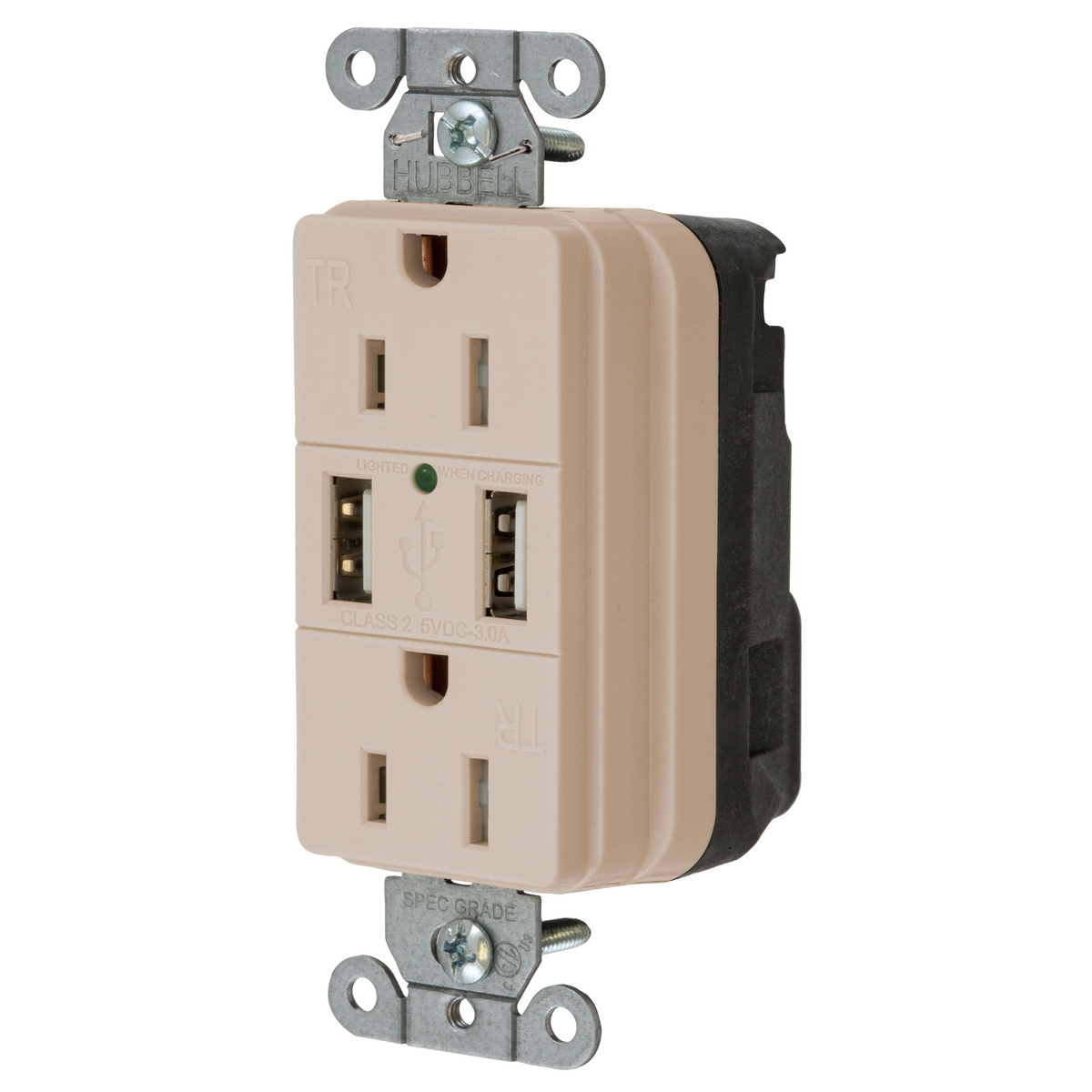 snap15usbla snapconnect receptacles straight blade devices rh hubbell com