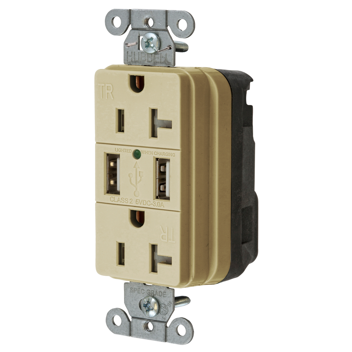 snap20usbi snapconnect receptacles straight blade devices rh hubbell com