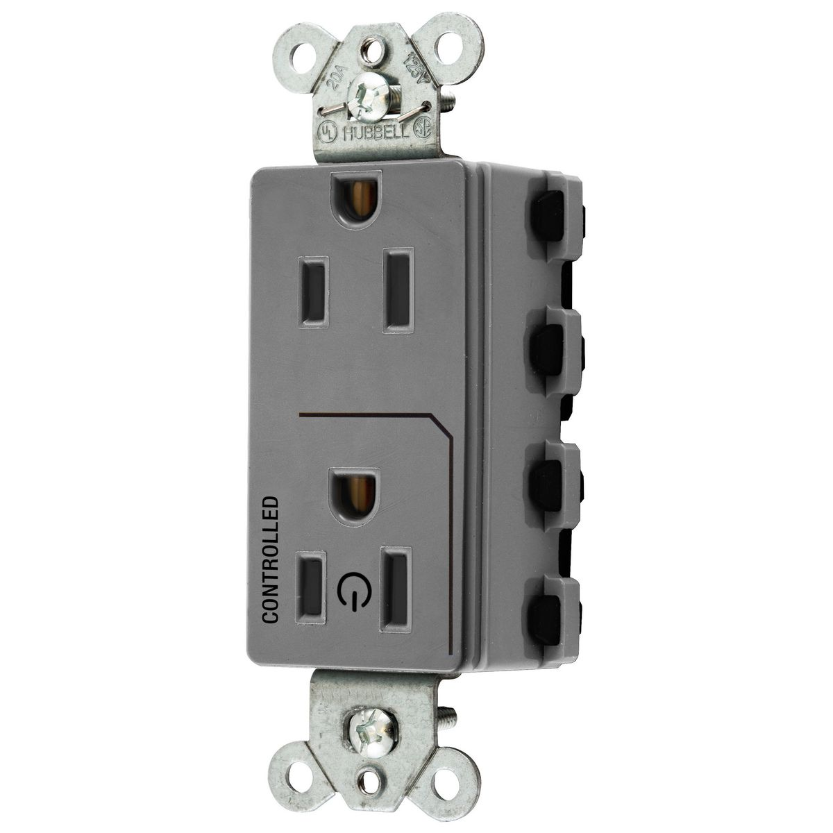 SNAP2152C1GY | SnapConnect Receptacles | Straight Blade Devices ...