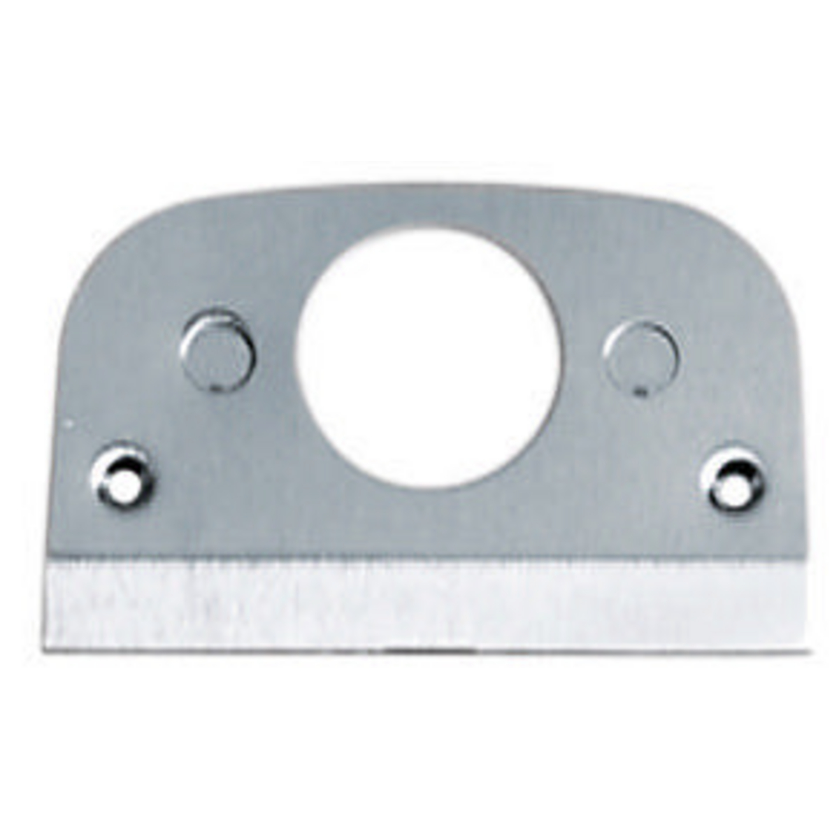 Hubbell SS309S 1.4 Inch Stainless Steel Single Receptacle Face Plate