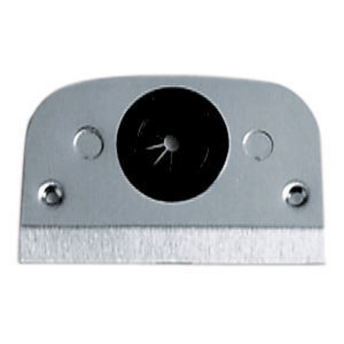 Hubbell SS309T 1 Inch Opening Stainless Steel Pedestal Face Plate