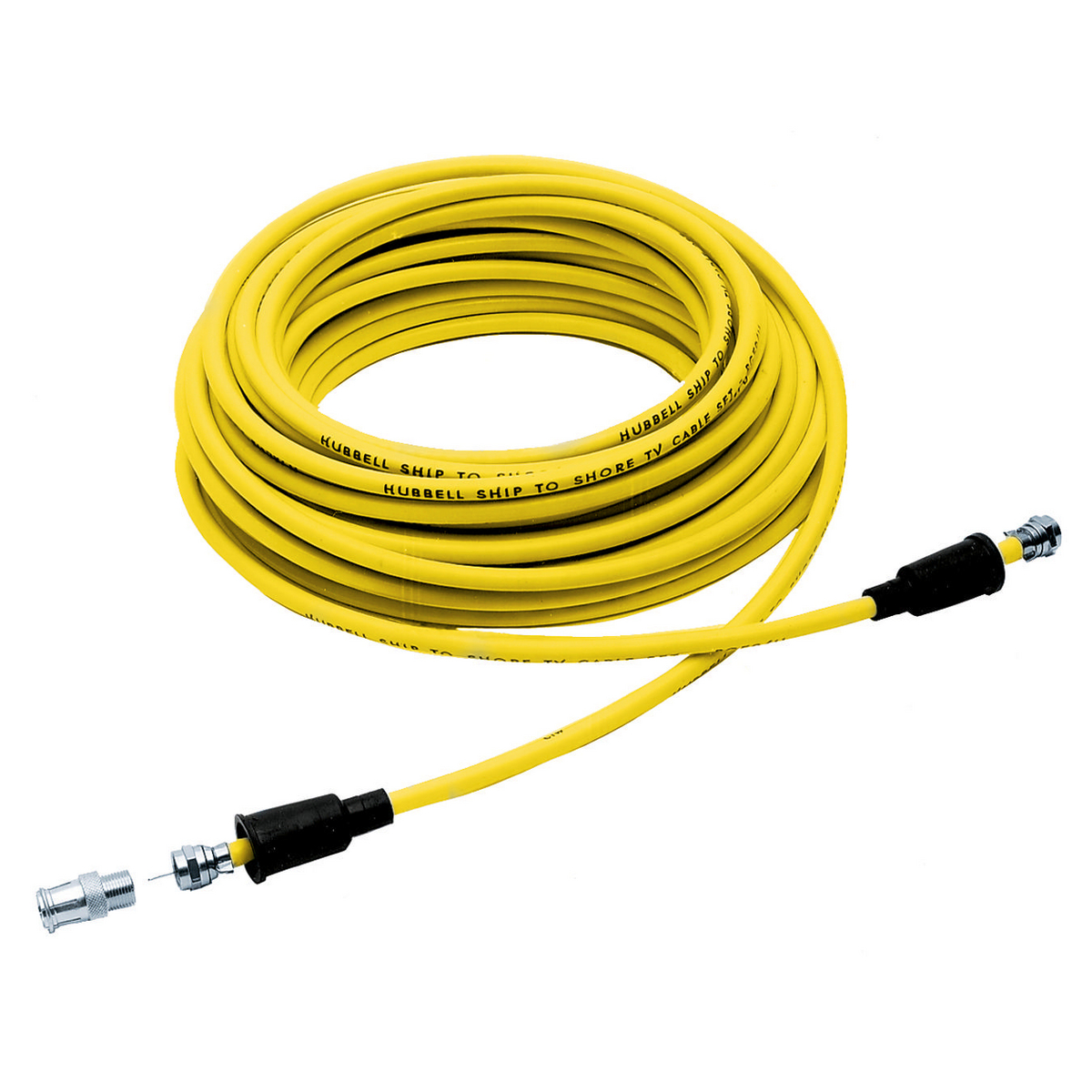 Hubbell TV99 Marine CATV CABLE, 50', YL