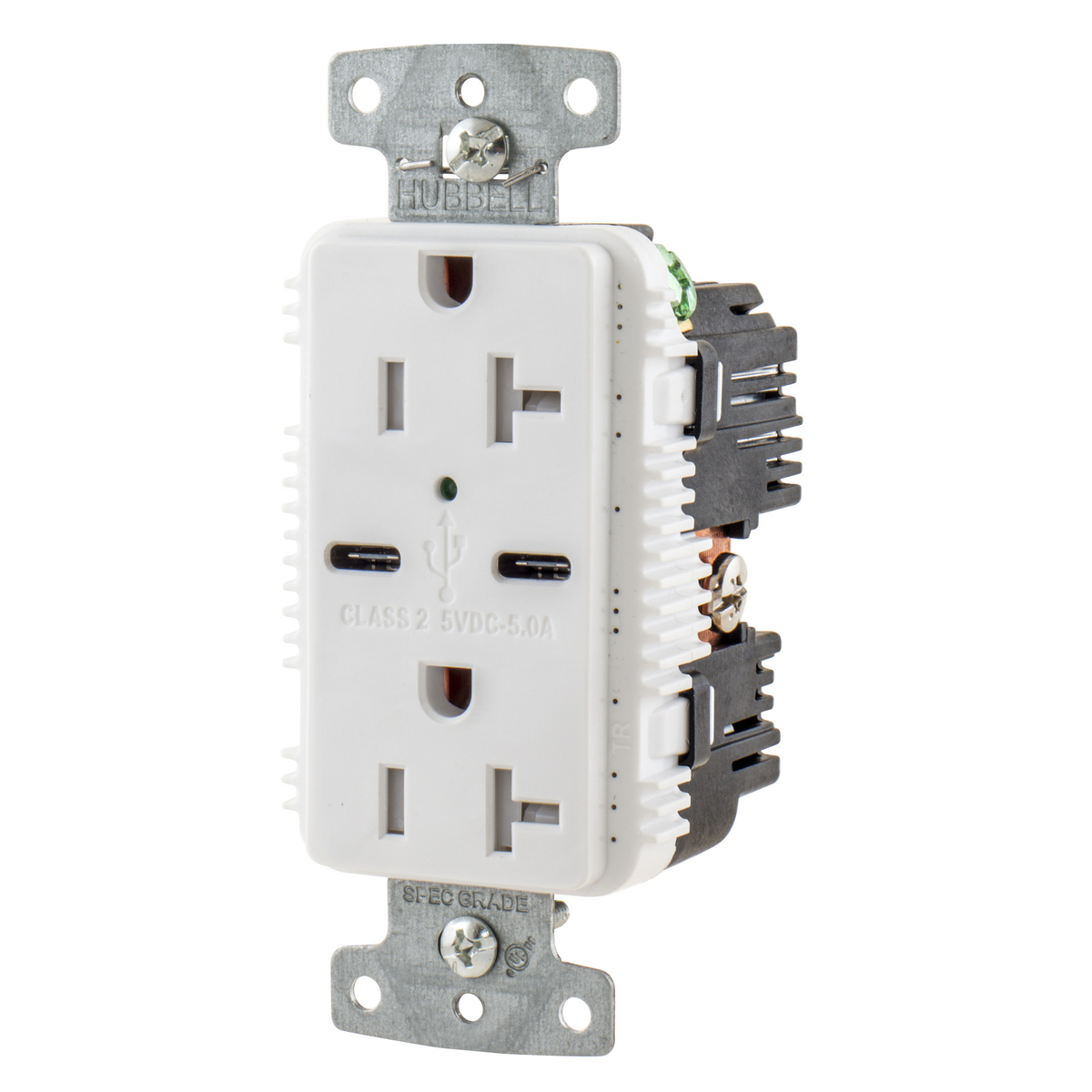 Hubbell Wiring Devices USB20C5W