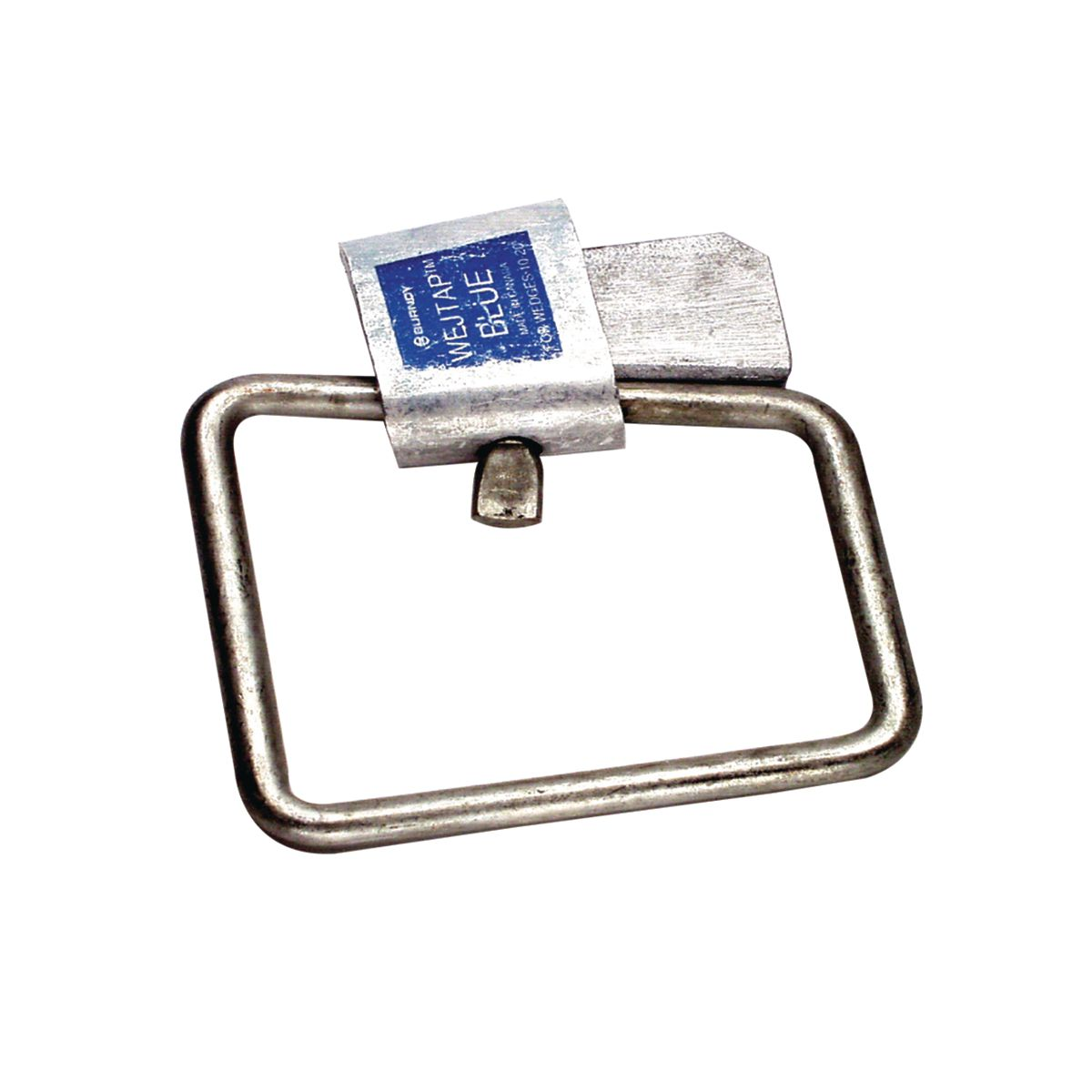 BURNDY WSM1 CONNECTOR, WEDGE TAP W/STIRRUP 0.447-0325 ALUM CONDUCTORRUN RANGE, STIRRUP BAIL SIZE DIA0.250 EQUAL TO #2 SOLID