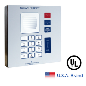 Clean Phone® VoIP Telephone (Wall-Mount), UL
