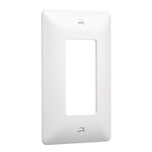 1-Gang MASQUE® 5000 Wallplate, Decorator, White