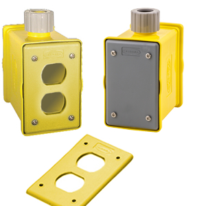 Portable Outlet Boxes & Covers