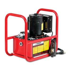 EP 1 HP Series Electric/Hydraulic Pump, 115/230V-AC, Use with all 10,000 psi remote HYPRESS™ crimpers and cutters