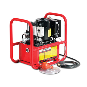 Electric Hydraulic Pump, Air Bulb Control with Roll Cage, 10,000 psi