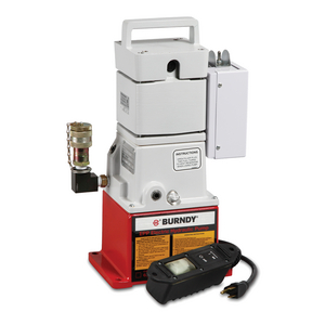 Electric / Hydraulic Pump With Remote Pendent Control Switch and Quick Disconnect Fittings, 10,000 psi, 1/2 HP, 115V AC Motor