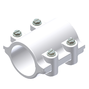 PVC SUPPORT CLAMP