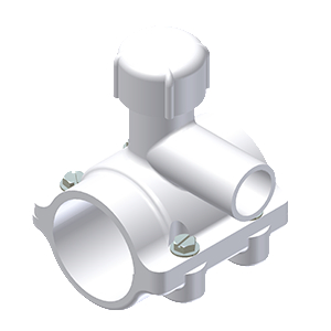 PVC C-900 FASTTAP® SADDLE PUNCH TEE FOR USE ON C-900 PVC MAINS