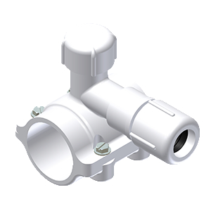 PVC FASTTAP® SADDLE PUNCH TEE FOR USE ON ALL PVC AND PE MAINS