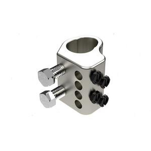 HD Two-Bolt Ground Rod Clamp