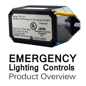 Emergency Lighting Controls Product Line