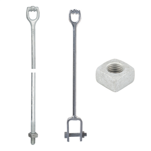 Expanding/Plate Anchor Rod & Extension