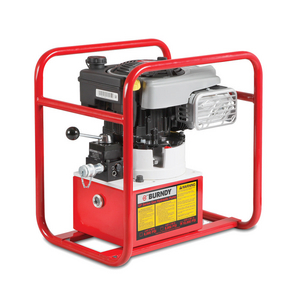 Gasoline Hydraulic Pump, 4 HP, 8 Quarts Reservoir Volume, 10000 psi