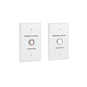 Low Voltage Emergency Remote Test Button