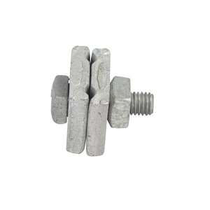 Guy Clamp, 1-Bolt, 3/16in to 3/8in Strand Size