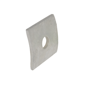 WASHER, SQ CURVED, 7/8in HOLE, 3in SQ