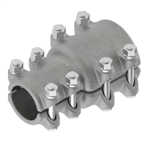 Coupler, Aluminum Bolted