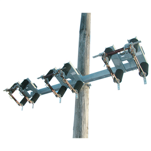 LH Opening, 14.4kV, 110kV BIL, 600A 3 Phase By-Pass Switch with Pole Mounting Bracket