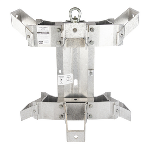 TRANSFORMER BRACKET, 3-POSITION, ALUMINUM RACK STYLE with 15in or 22in LUG SPACING