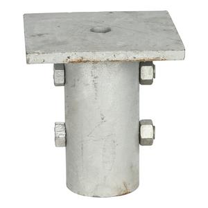 Cap, Pile RS2875 7x7in 2 hole galvanized
