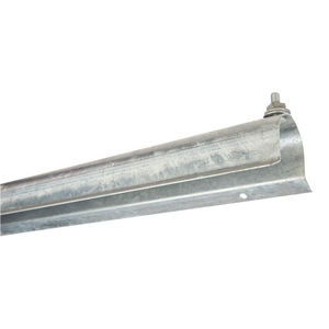 CABLE GUARD, 1-7/8in x 9ft, STEEL, FLANGED STYLE