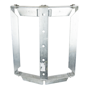 TRANSFORMER BRACKET, 3-POSITION, STEEL RACK STYLE with LIFTING PROVISION and NEMA A and B LUG SPACING