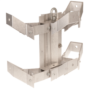 TRANSFORMER BRACKET, 3-POSITION, ALUMINUM RACK STYLE with LIFTING EYE and NEMA A LUG SPACING