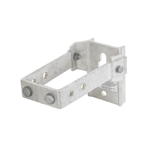 CONDUIT STANDOFF BRACKET, 6in POLE OFFSET
