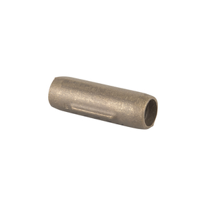 THREADLESS, COPPER-BONDED GROUND ROD COUPLING, 1/2in