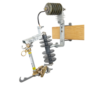 15 kV, 110 kV BIL, Type C Linkbreak Polymer Cutout / Arrester Combination w/100A 10kAIC fuseholder