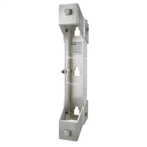 TRANSFORMER BRACKET, 1-POSITION, ALUMINUM RACK STYLE with NEMA A and B LUG SPACING