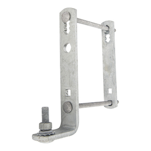 CROSSARM MOUNTED, CUTOUT-ARRESTER BRACKET