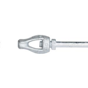Anchor, PISA Rod, 5/8in X 3.5ft Thimbleye, 5/8in threads