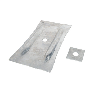 ASSEMBLY, GALV WALL PLATE
