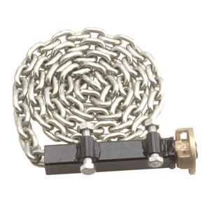 Capstan Hoist Chain Clamp, For 1,000 lb. & 3,000 lb. All-Purpose and Bolt Down Brackets